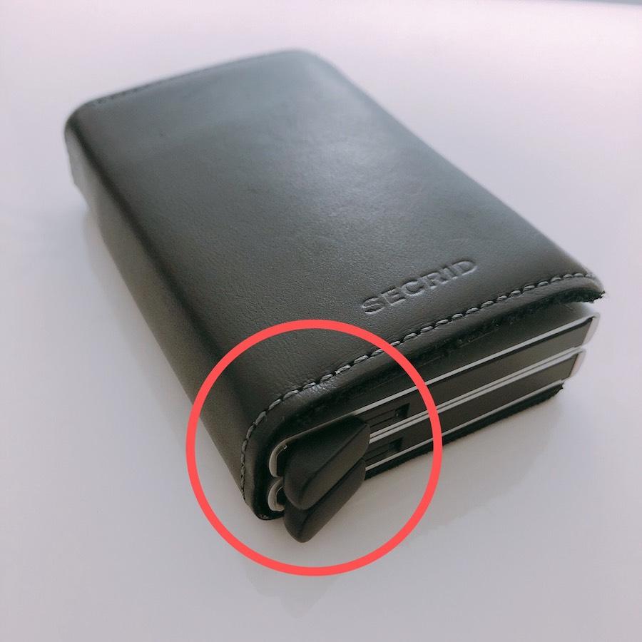 SECRIDのカードケースの画像