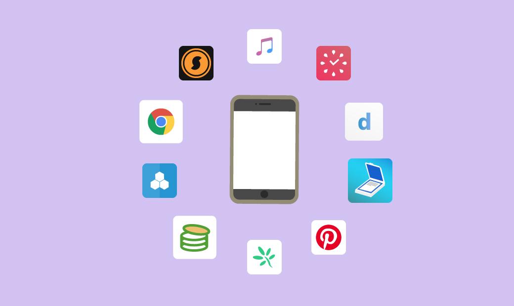 おすすめアプリ10選の画像