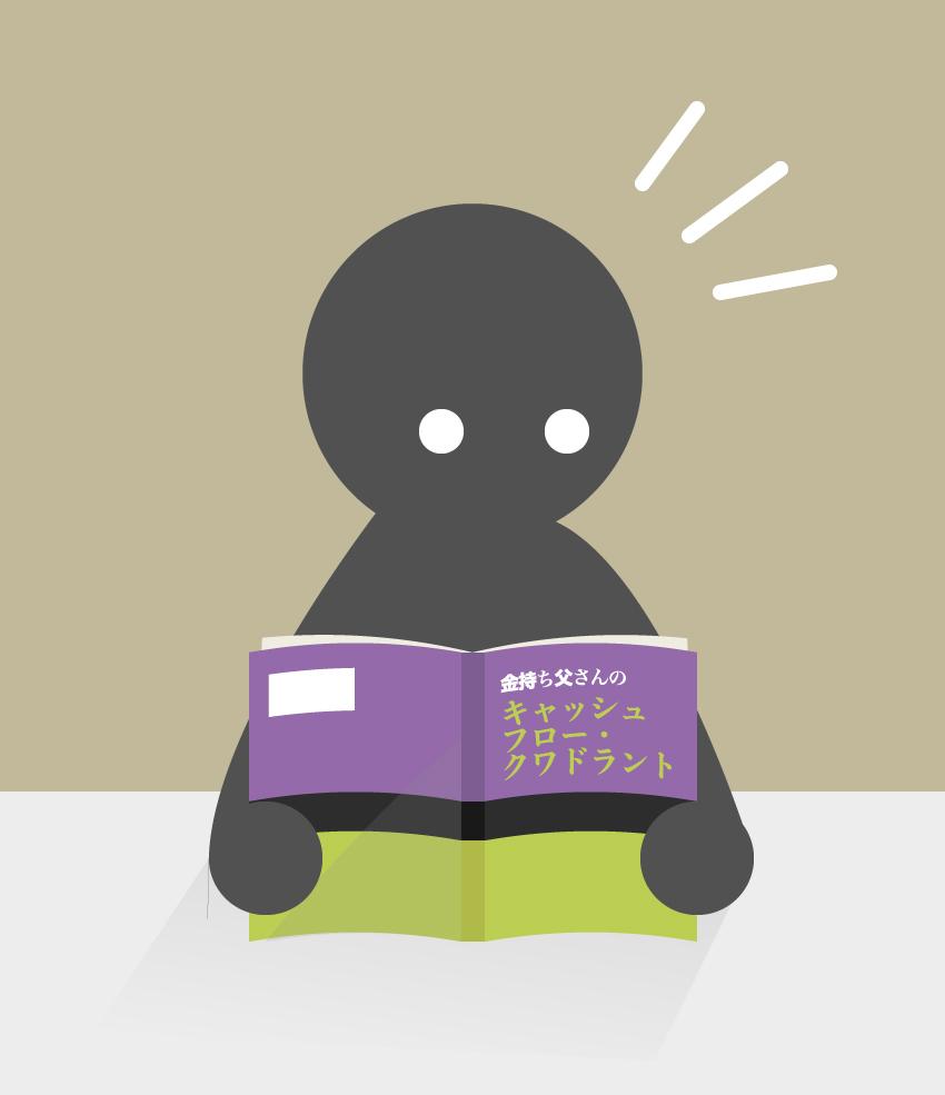 マルチ商法でビジネスが勉強できる画像(金持ち父さんのキャッシュフロー クワドラント)