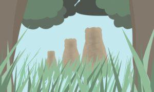 ゴルディロックス効果の3匹のくまの話の画像