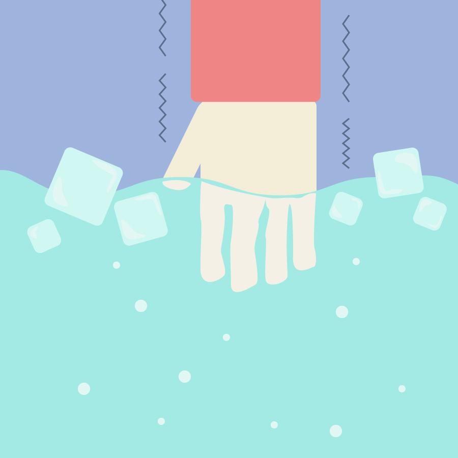 ピークエンドの法則の冷水の実験の画像