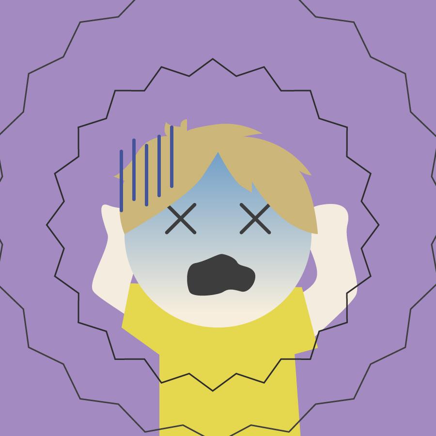 ピークエンドの法則の騒音の実験の画像