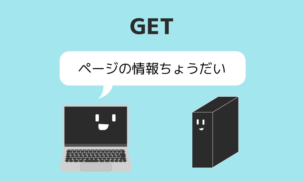 HTTPリクエストメソッド:GET