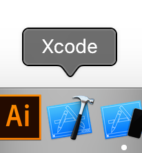 Xcodeを起動する画像