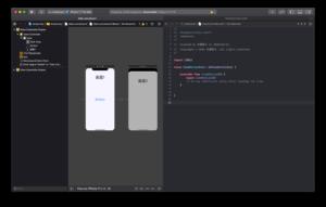 ボタンとコードを連携させる画像
